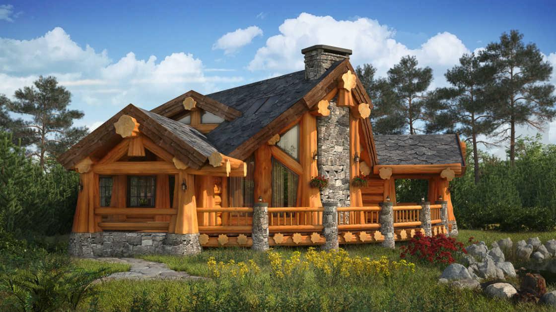 Основные особенности домов из лиственницы