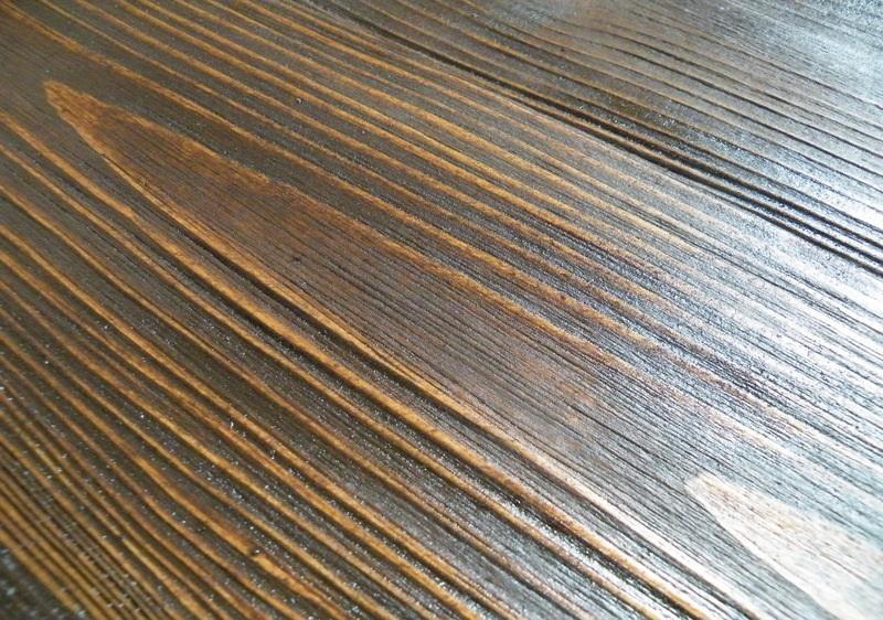 Брашировка древесины